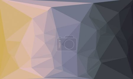 fondo poligonal colorido abstracto
