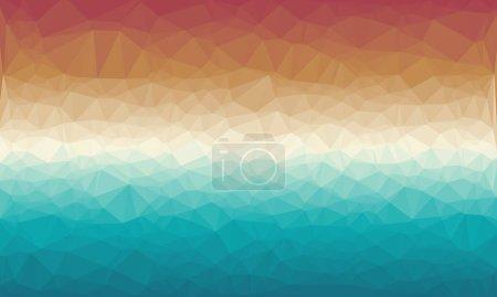 bunte geometrische Hintergrund mit Mosaik-Design