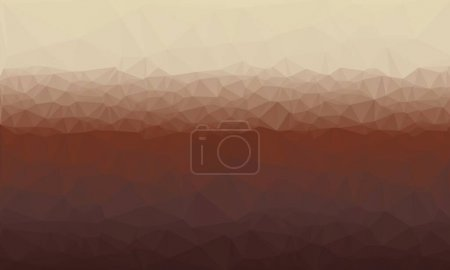Creative prismatic background with dark and polygonal pattern