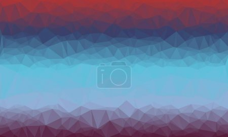 Creative prismatic background with polygonal pattern and modern design