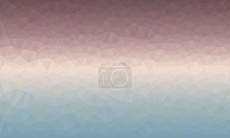 fond polygonal pastel minimal et multicolore