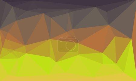 Photo pour Fond polygonal mélangé lumineux et sombre - image libre de droit