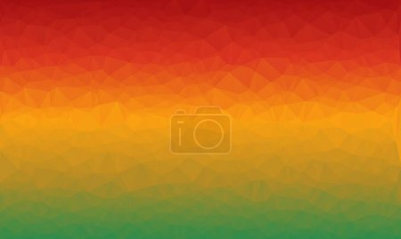 Minimal multicolored polygonal and geometric background