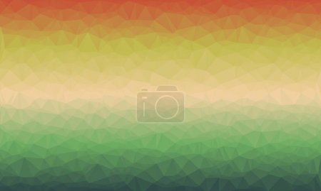 colorful polygonal and abstract background