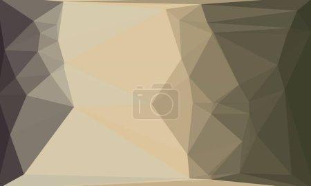 Minimal and dark polygonal background