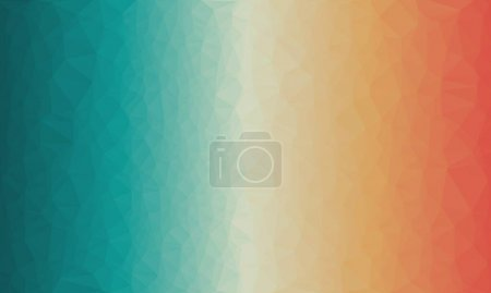 geometric background with colorful poly pattern