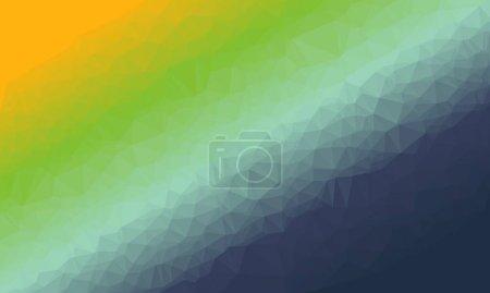 Photo pour Fond vectoriel abstrait avec dégradé coloré. cette illustration est parfaite pour commencer votre propre conception. - image libre de droit