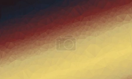 kreativer prismatischer Hintergrund mit polygonalem Muster