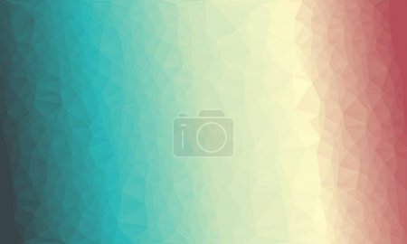 abstract multicolored background with poly pattern