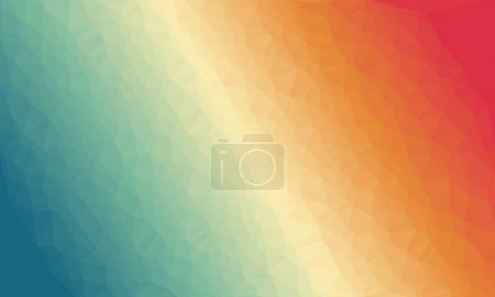 Photo for Abstract multicolored background with poly pattern - Royalty Free Image