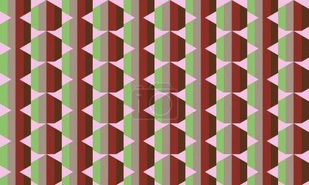 Abstract creative background with repeated shapes
