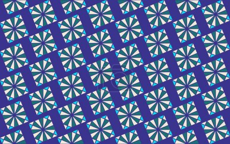 Illustration for Seamless abstract background with geometric elements - Royalty Free Image