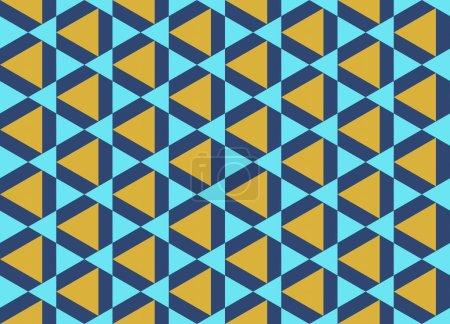 Fond abstrait sans couture avec des éléments géométriques