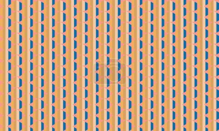 Illustration pour Fond créatif abstrait avec des formes répétées - image libre de droit