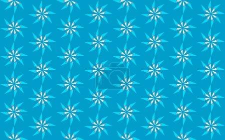 Illustration pour Fond coloré moderne avec motif hexagonal - image libre de droit