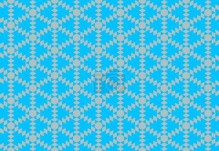 Foto de Fondo abstracto sin costuras con elementos geométricos - Imagen libre de derechos
