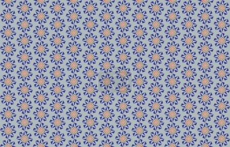 Nowoczesne kolorowe tło z sześciokątnym wzorem