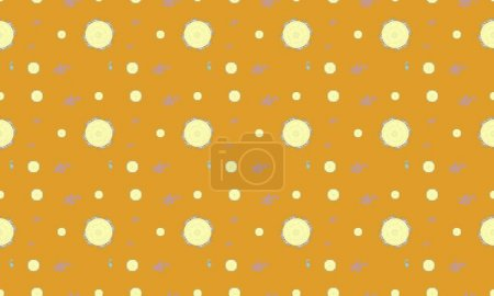 Photo for Colored background with different accessories - Royalty Free Image
