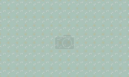 Colored background with different accessories