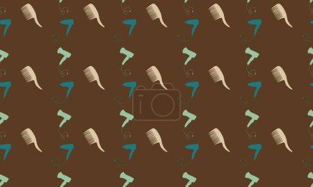Photo pour Fond coloré avec différents accessoires - image libre de droit