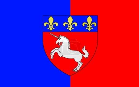 Flag of Saint-Lo, France