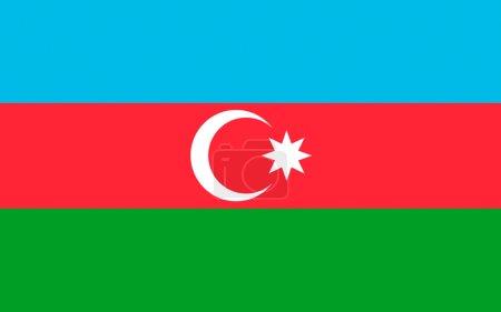 Flag of Azerbaijan officially the Republic of Azer...