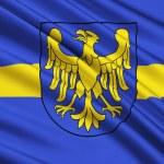 Flag of Silesian Voivodeship or Silesia Province i...