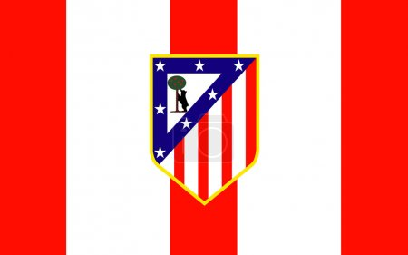 Flag football club Atletico Madrid, Spain