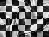 Real checkered flag