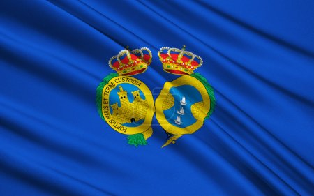 Flag of Huelva - Province in the southwest of Spain
