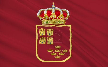 Flag of the Region of Murcia is an autonomous community of Spain