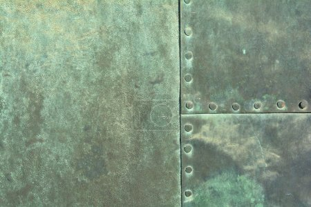 weathered copper sheet