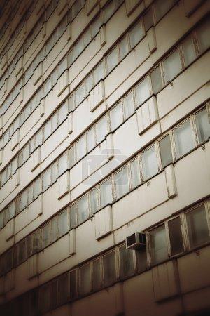 Photo pour Immeuble de bureaux abandonné dans le centre de Berlin - image libre de droit