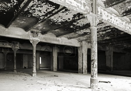 abandoned disused brewery