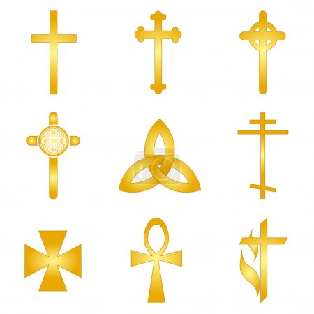 Cross Icons & Symbol Vector Set