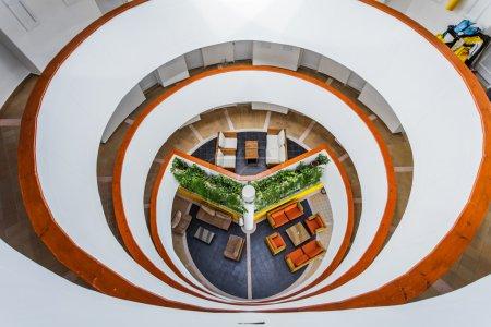 Interior Structure of Decameron Aquarium Hotel