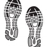 Постер, плакат: Imprint soles shoes sneakers