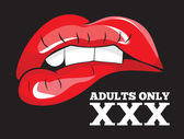 Adults only sign XXX sign