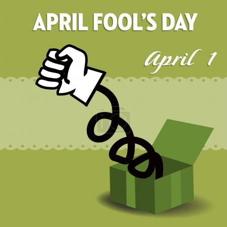 April Fool's Day surprise box