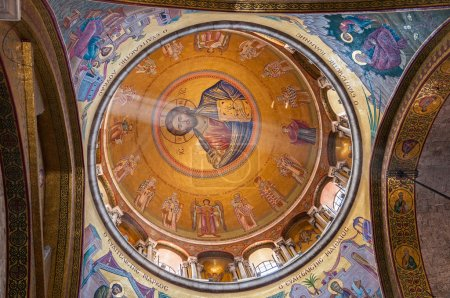 The dome of Church Holy Sepulchre in Jerusalem Israel