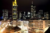 view at the Hauptwache in Frankfurt