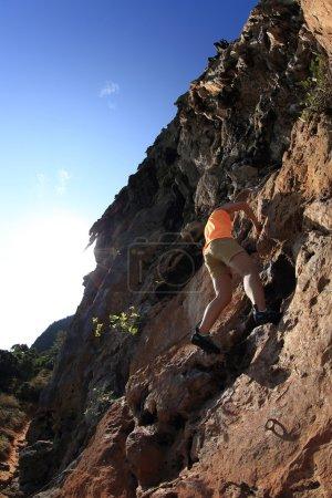 grimpeur de femme