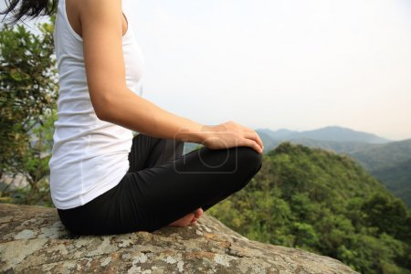 young fitness yoga woman