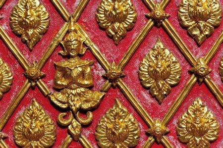 Carved ornate decoration