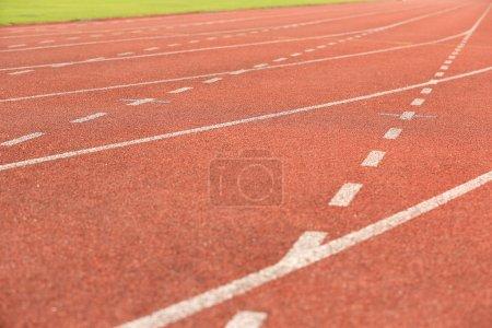 Stadium race tracks