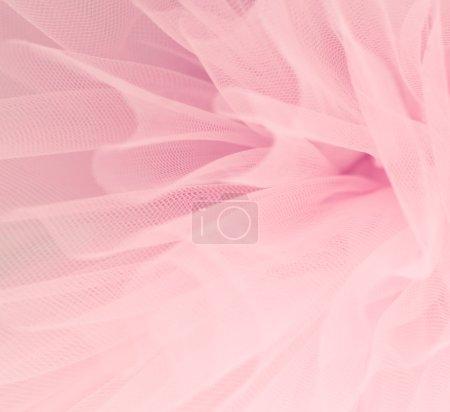 Photo pour Beau fond rose délicat moelleux tissu mesh - image libre de droit
