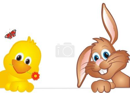 Easter bachground