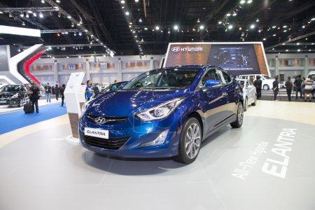 BANGKOK MARCH 22 Hyundai Elantra