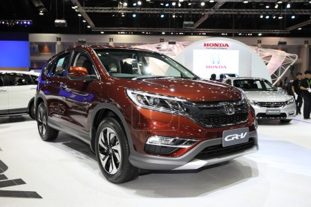 BANGKOK - November 28: Honda CR-V car on display at The Motor Ex