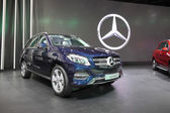 BANGKOK - December 1: Mercedes Benz GLE 250d car on display at T